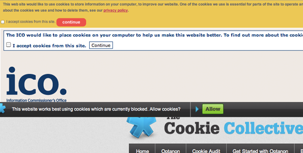 EU Cookie Legislation - Web Design London