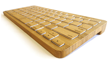 Bamboo Keyboard - Web Design London