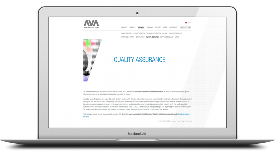 Ava cad cam web design and development agency london Web cad software