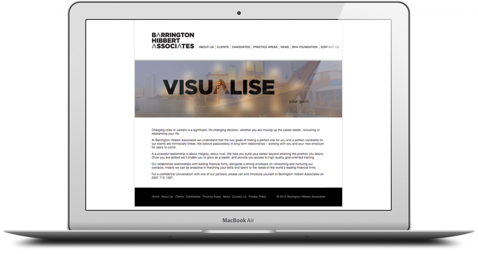 BHA Website Production Agency London Image 3
