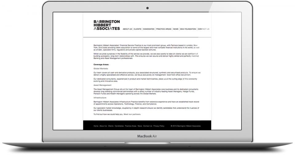 BHA Website Production Agency London Image 4