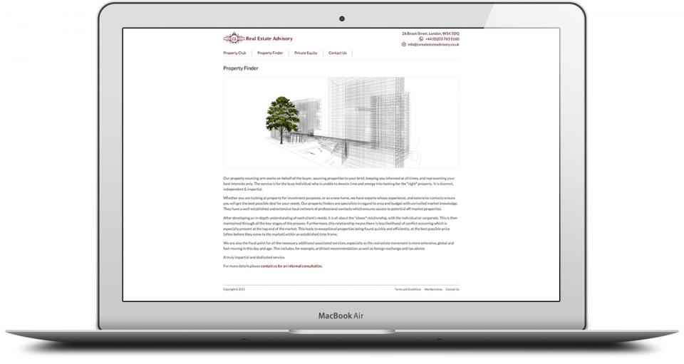 Estate Agency Web Design London Marketing Agency 2