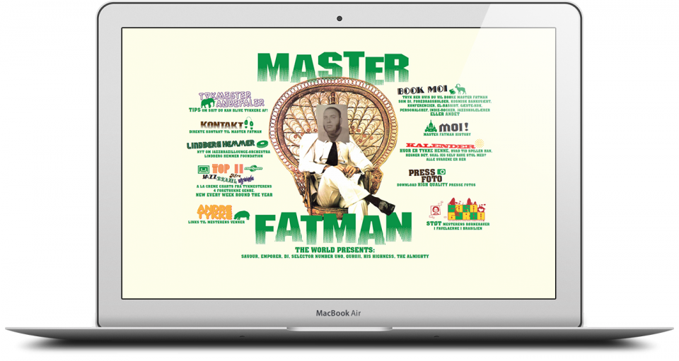 Master Fatman Website Development London Portfolio 1