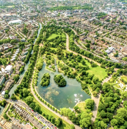 Hyperlapse Video of London Canals